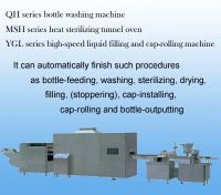 Sell Glass Bottle Washing Drying Filling & Sealing Production Line