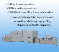 Sell Antibiotic Bottle Washing Drying Filling & Stoppering Line