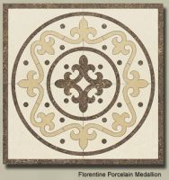 Sell stone hand carved floor tiles and borders