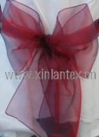 Sell organza or taffeta sashes