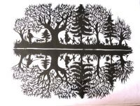 Sell paper-cut craft, 100%handmate