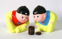 Chinese handmade clay sculpture lifelike boys\clay figures\crafts\gift