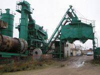 used asphalt plant INTRAME RM 160 in Spain