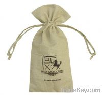 cotton drawstring pouch