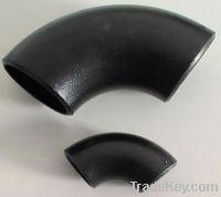 Sell large diameter 90 degree steel elbow