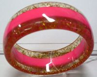 Sell acry or resin l bracelet
