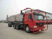 Sell SINOTRUK HOWO 6X4 Log Delivery Truck