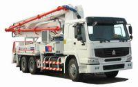 Sell HOWO 6X4 37m-boom Concrete Pump Truck