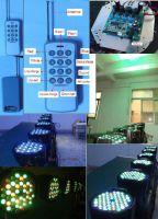 led Remote Control par light/led par64 light/led effect light/led stage light/par can