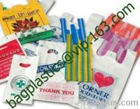 T-shirt Bags, carrier bags, shopping bags, C-Fold, star seal