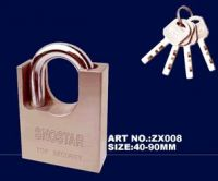 Sell zx008 arc-type armoured shackle padlock