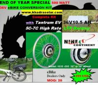 Sell eBike Conversion Kit - Top Quality. Brand Names.