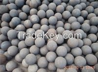 75MNCR material forged grinding ball dia35mm