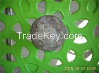 75MNCR material forged grinding ball dia25mm