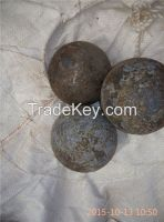75mncr and 60mn material forged grinding ball, dia60mm