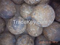 75MNCR material forged grinding ball