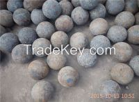75mncr and 60mn material forged grinding ball, dia65mm