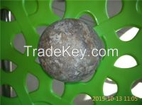 75mncr and 60mn material forged grinding ball, dia70mm