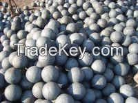 75mncr material forged grinding ball dia60mm