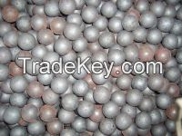 forged grinding ball, size 70mm, 75MNCR material