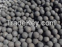 forged grinding ball, size80mm, 75mncr material