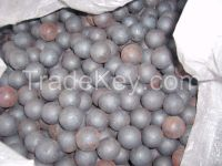 60mn material forged grinding ball size 40mm
