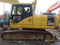 Sell KOMATSU excavator PC200-6