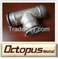 Flexible Aluminum Air Duct T-joint