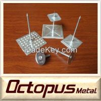 Galvanized Steel Stuck Up Pin Self Adhesive Insulation Pins