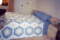 quilted patchwork bedding set