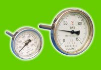 Sell :Industrial Bimetal Thermometers with Back connection