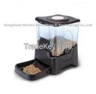 Plastic pet feeder electronic dog feeder