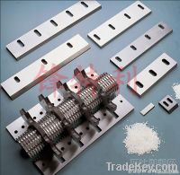 Chinese Pelletizer blades Plastic Pelletizer Knives
