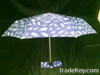Sell 2012 new 3-fold Super Light Umbrella
