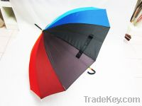 Sell 2012 new Umbrella with Beautiful Rainbow Circle on Crook Handle