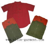 Sell hemp cotton t-shirt pants jackets skirts and shorts