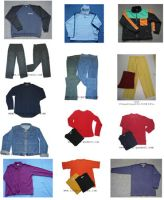 Sell Jeans Jackets Shirts Sweaters for Autumn and Winter
