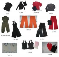 Sell T-shirts and ladies knitted top