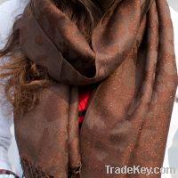 Sell New Ladies wool shawles pashmina 011