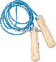 Skiping Rope Wooden Handle & Nylon ROpe