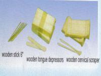 Sell wooden tongue depressor, wooden cervical scrapers