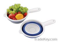"""Sell SNY-TPR-1706A 9""""Fold Colander W/ Handle-Eco-friendly"""