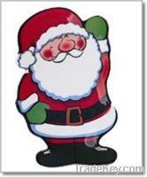 Sell Father Christmas Shaped Melamine Dinner plate-Food safe