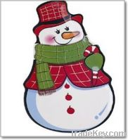 Sell Snow Man Shaped Melamine Dinner plate-Food safe, Customized deca