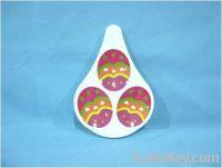 Sell Melamine Egg Holder For 3PCS-100% melamine, Food safe