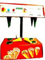 PIZZA CONE MACHINE 4 cones capacity