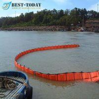 WGV 1100 D PVC fence oil spill containment boom orange