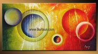 Handmade Decoration Oil Painting on Canvas-0745