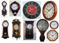 Sell grandfather clock, wooden clock, wall clock