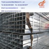 Sell Pre galvanized round and square steel pipe